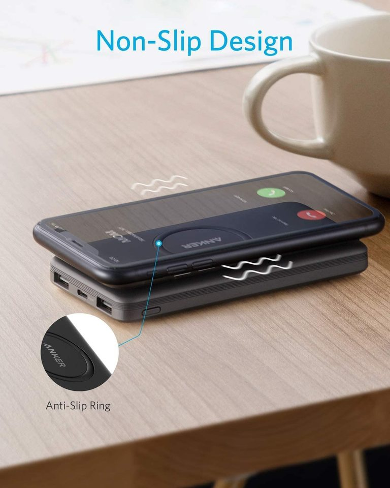 Anker PowerCore 10000mAh Wireless Powerbank mit USB-C Eingang