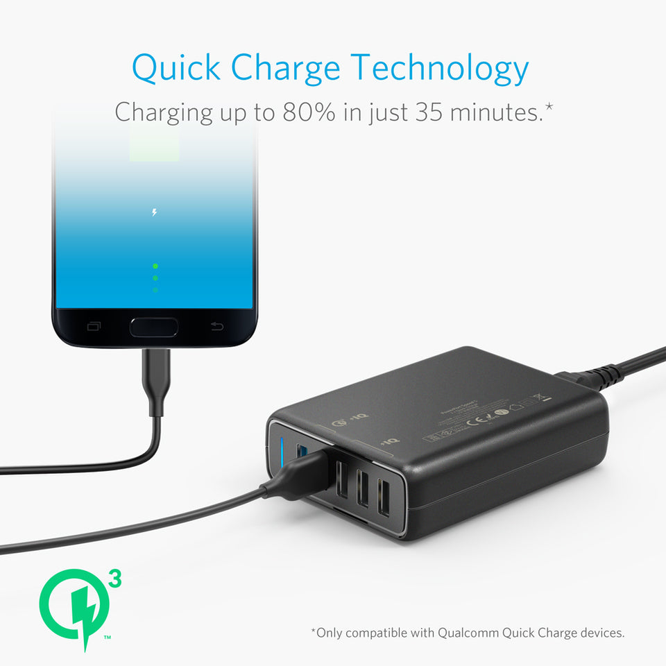 PowerPort 5 (2016) with Dual Quick Charge 3.0