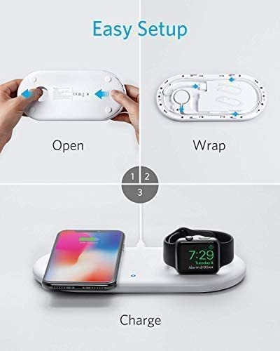 PowerWave+ Charging Pad with Charging Dock