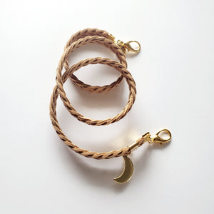 Mask Lanyard - Crescent (gold)