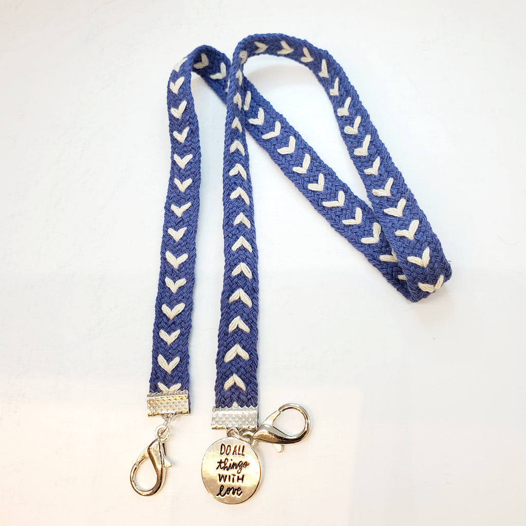 Mask Lanyard - Do All Things With Love - HIRMIE