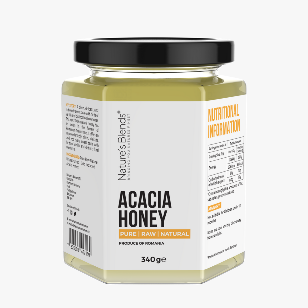 Acacia Honey - Raw - Product of Romania