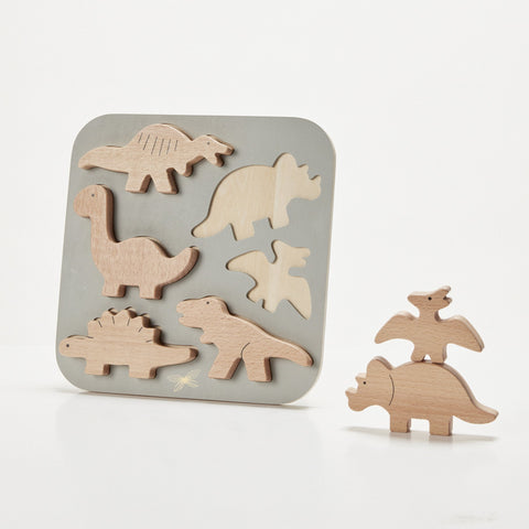 PUZZLE, DINOSAURIER
