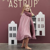 TÜLL-CAPE – DUSTY ROSE