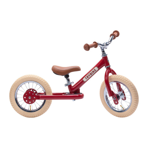 TRYBIKE STEEL 2 RAD – VINTAGE RED