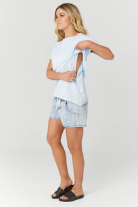 Valance Tee - POWDER