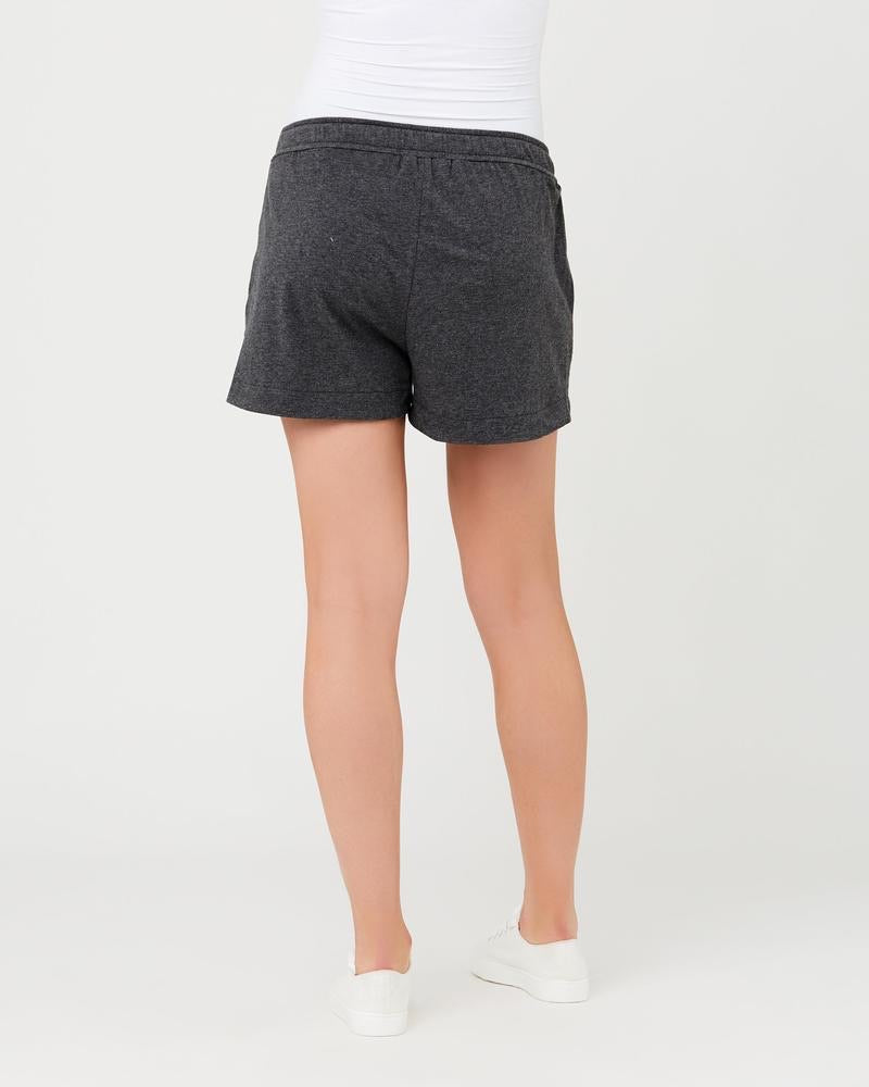 Organic Jersey Short - Charcoal Marle