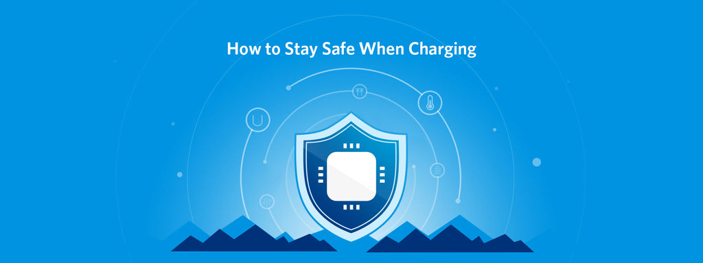 Shield with charging safety features