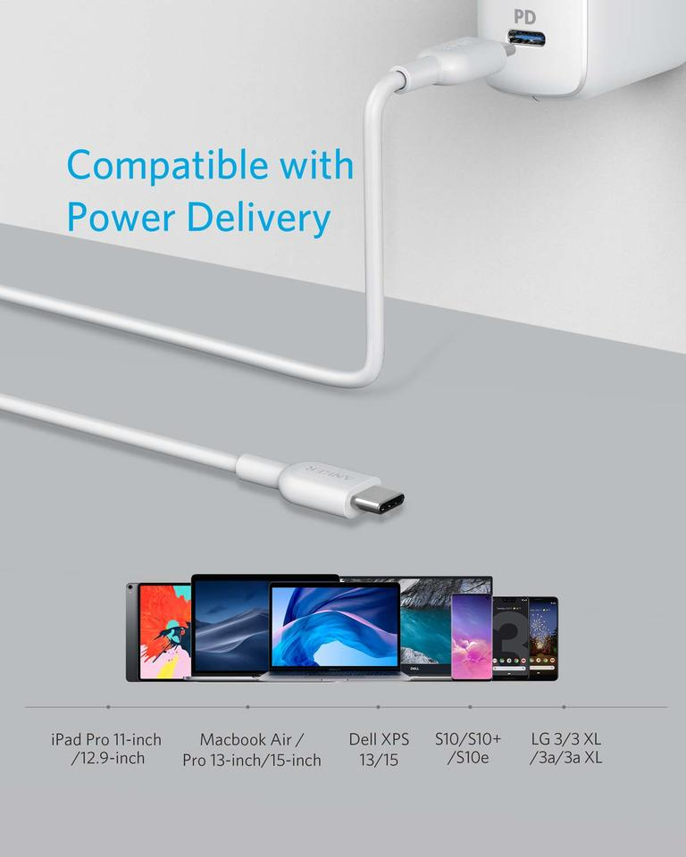 Anker Powerline II USB C to USB C 2.0 Cable (6ft)