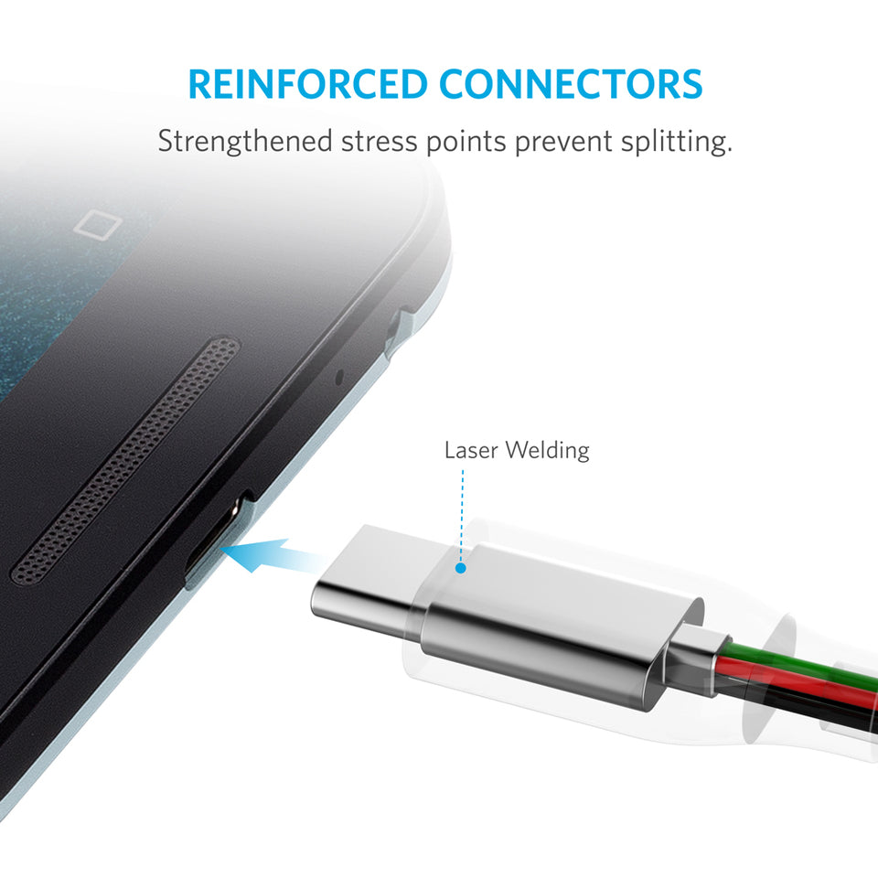 PowerLine 6ft USB-C to USB 3.0