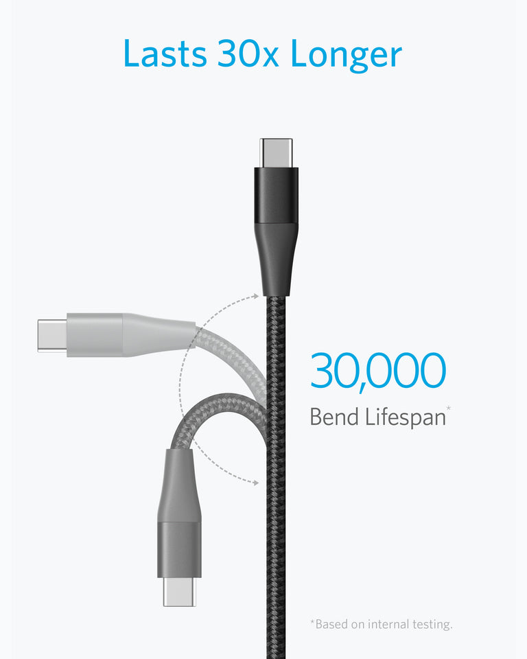 Powerline+ II USB-C to USB-A 2.0 Cable (6ft)