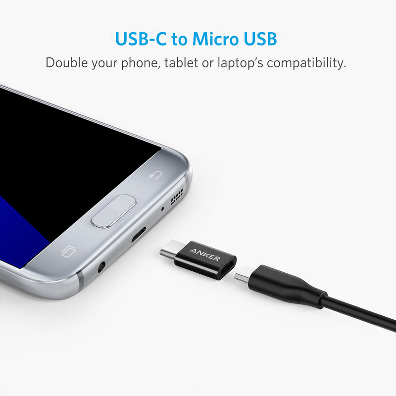 Anker USB-C (Male) to Micro USB (Female) Adapter