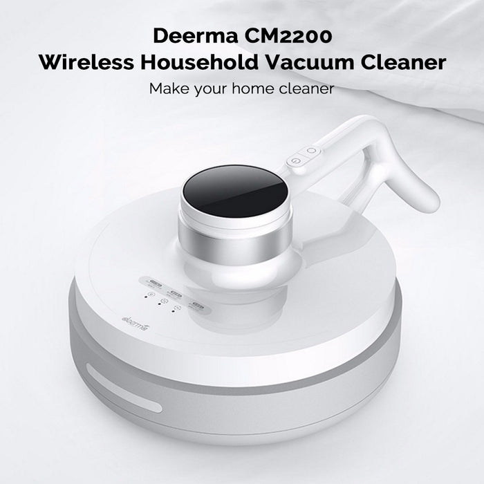 Deerma-CM2200  2-in-1 Household Handheld Vacuum Cleaner and Mites Remover 7000Pa Strong Suction