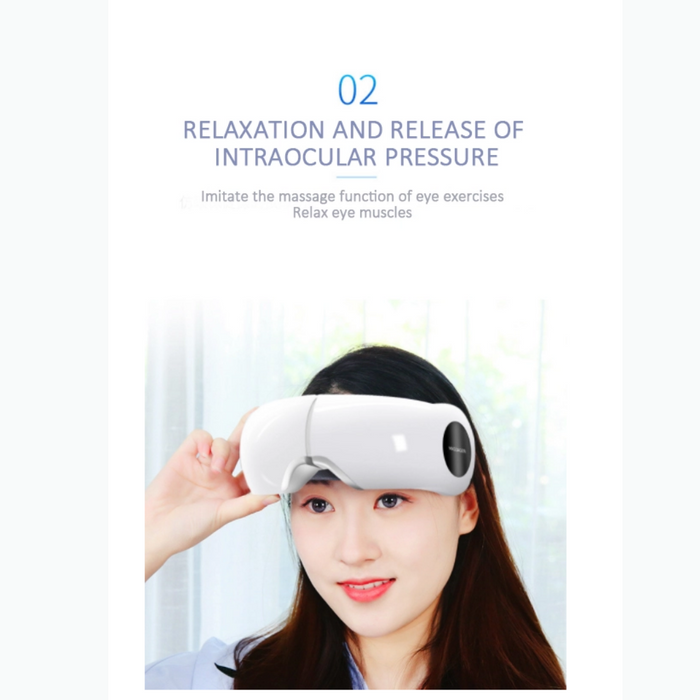 Tech Love® Rechargeable Hot Compress Eye Massager