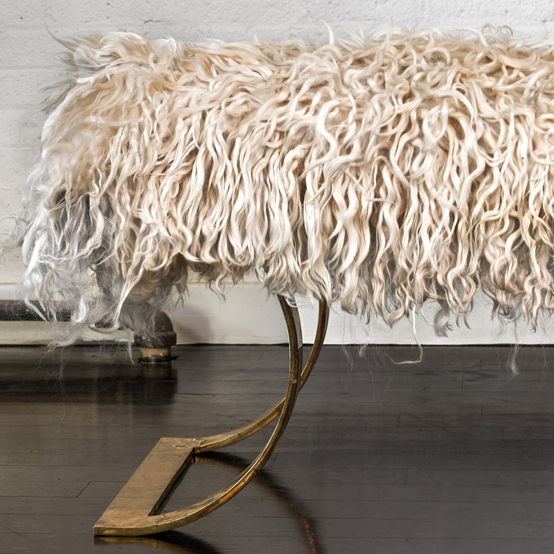 Angora Brass Bench