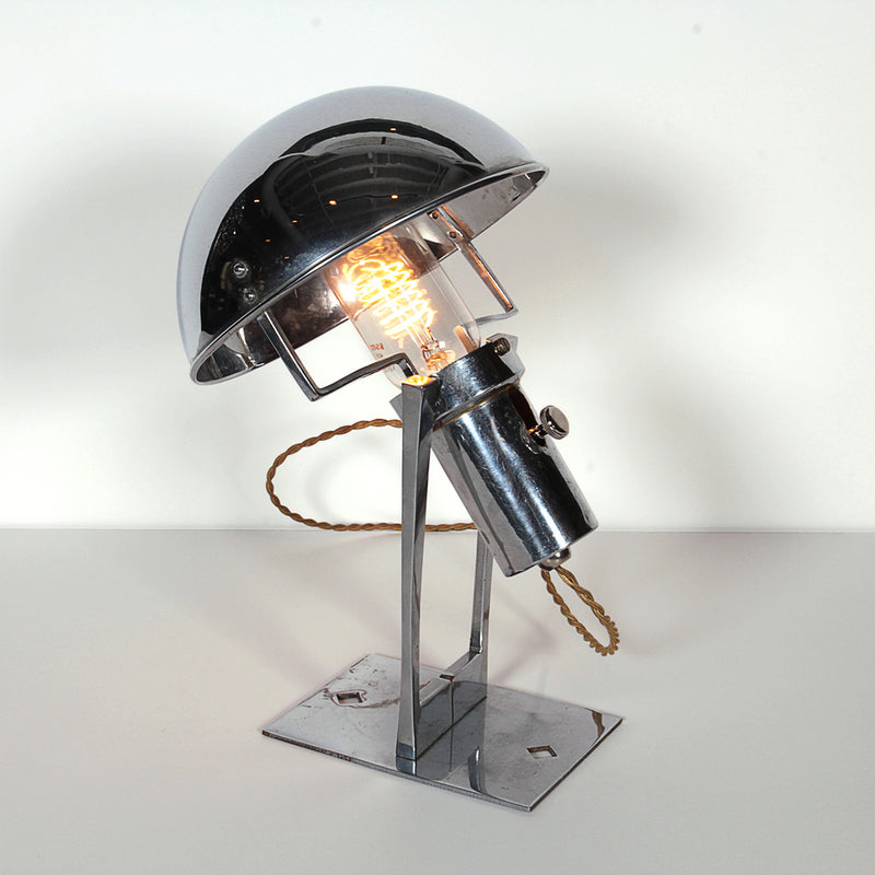 Successionist Nickel Lamp