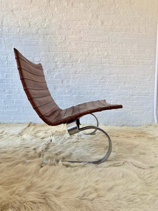 PK 20 Lounge Chair by Poul Kjaerholm for Kold Christensen,1968