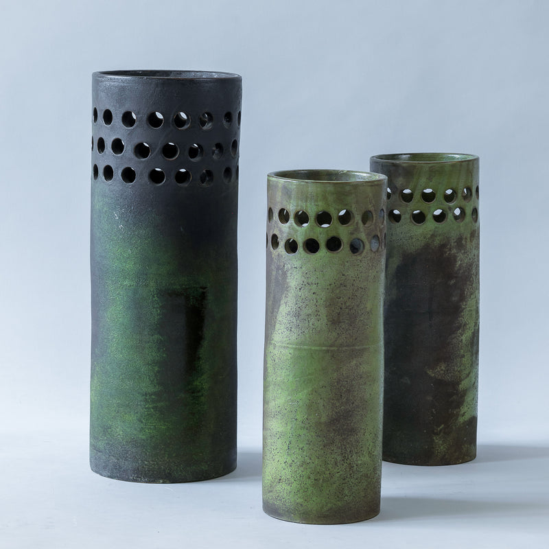 Bitossi Set of 3 Vases, Italy