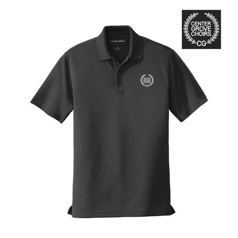 Center Grove Choir Black Crest Polo