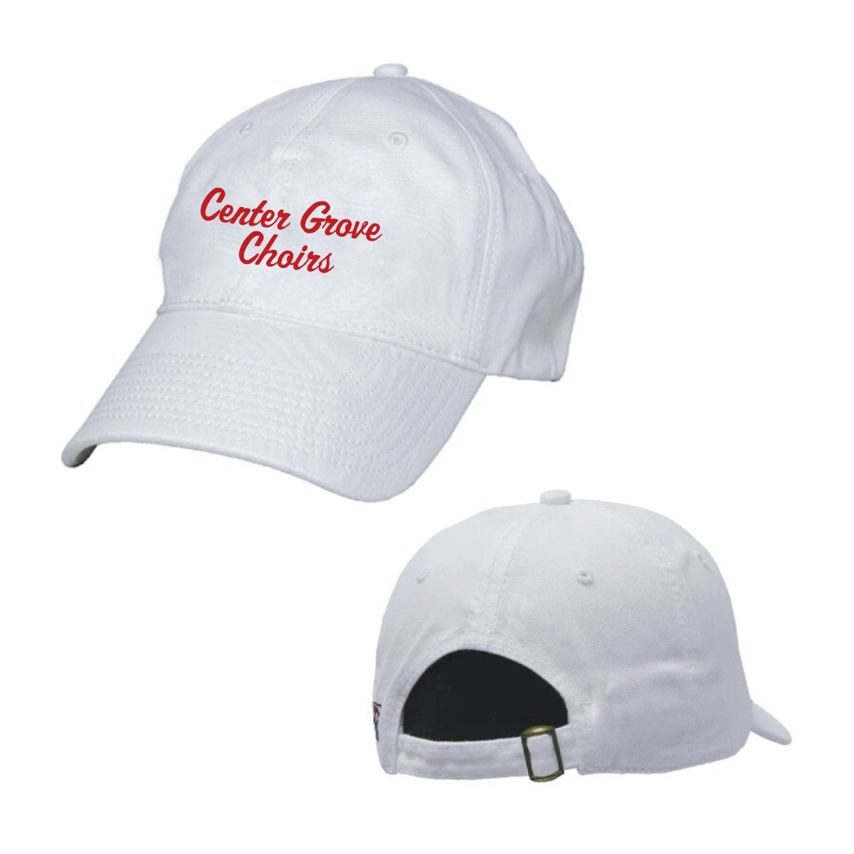 Center Grove Choir White Ball Cap