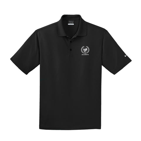 Accents Black Nike Polo