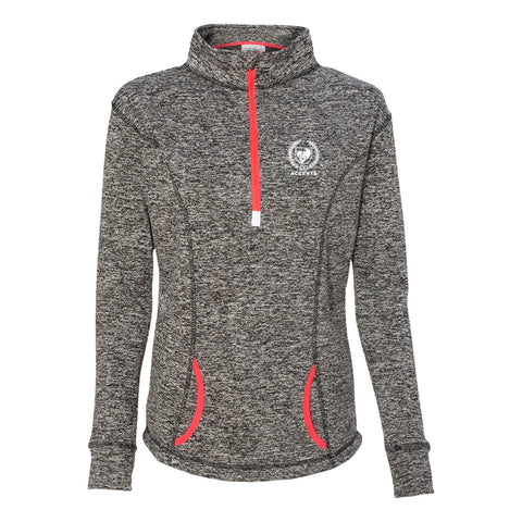 Accents Charcoal Heather 1/4 Zip Pullover