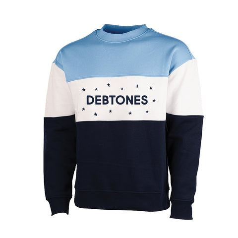 Debtones Color Block Crew