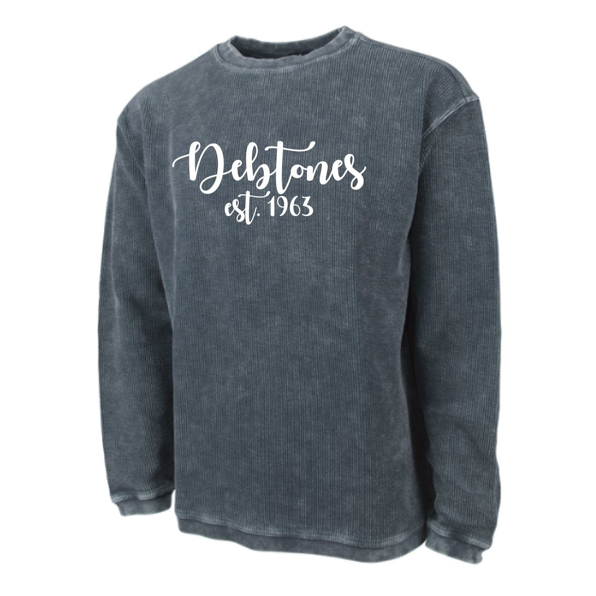 Debtones Corded Crew Sweatshirt