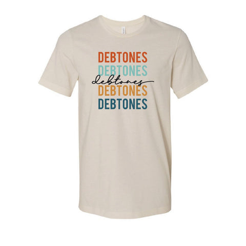 Debtones Retro Earth Tone Short Sleeve Tee