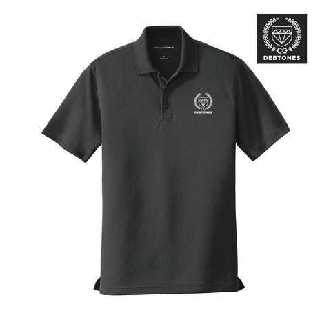 Debtones Black Crest Polo