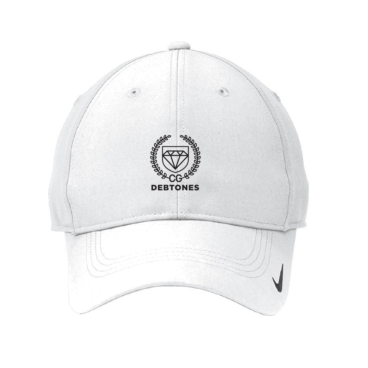 Debtones White Nike Hat