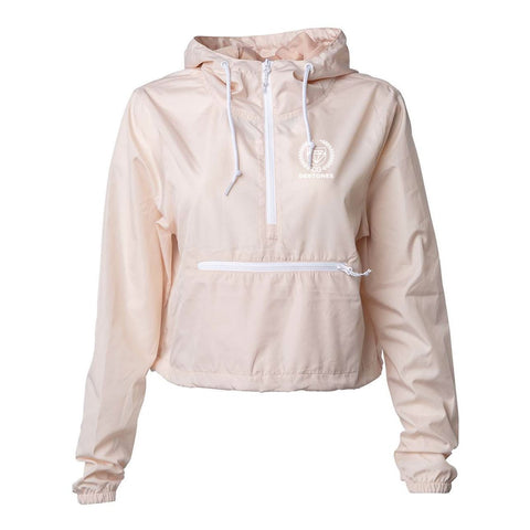 Debtones Blush Crop Windbreaker
