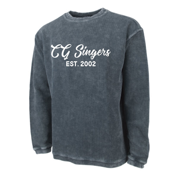 Center Grove Singers Corded Crew Sweatshirt