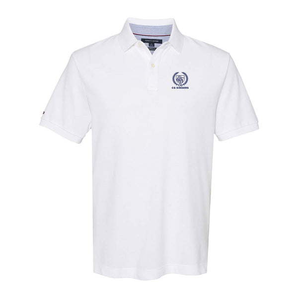 Center Grove Singers White Tommy Hilfiger Polo