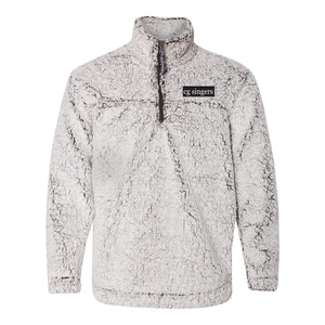 Center Grove Singers Embroidered Sherpa Quarter Zip