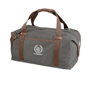 Center Grove Singers Canvas Duffel