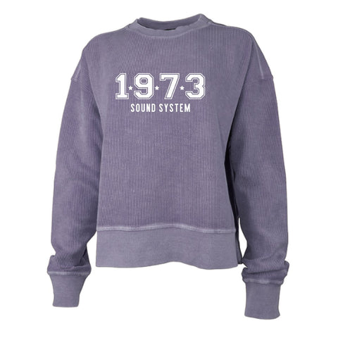 Sound System Color Corded Crew Crop
