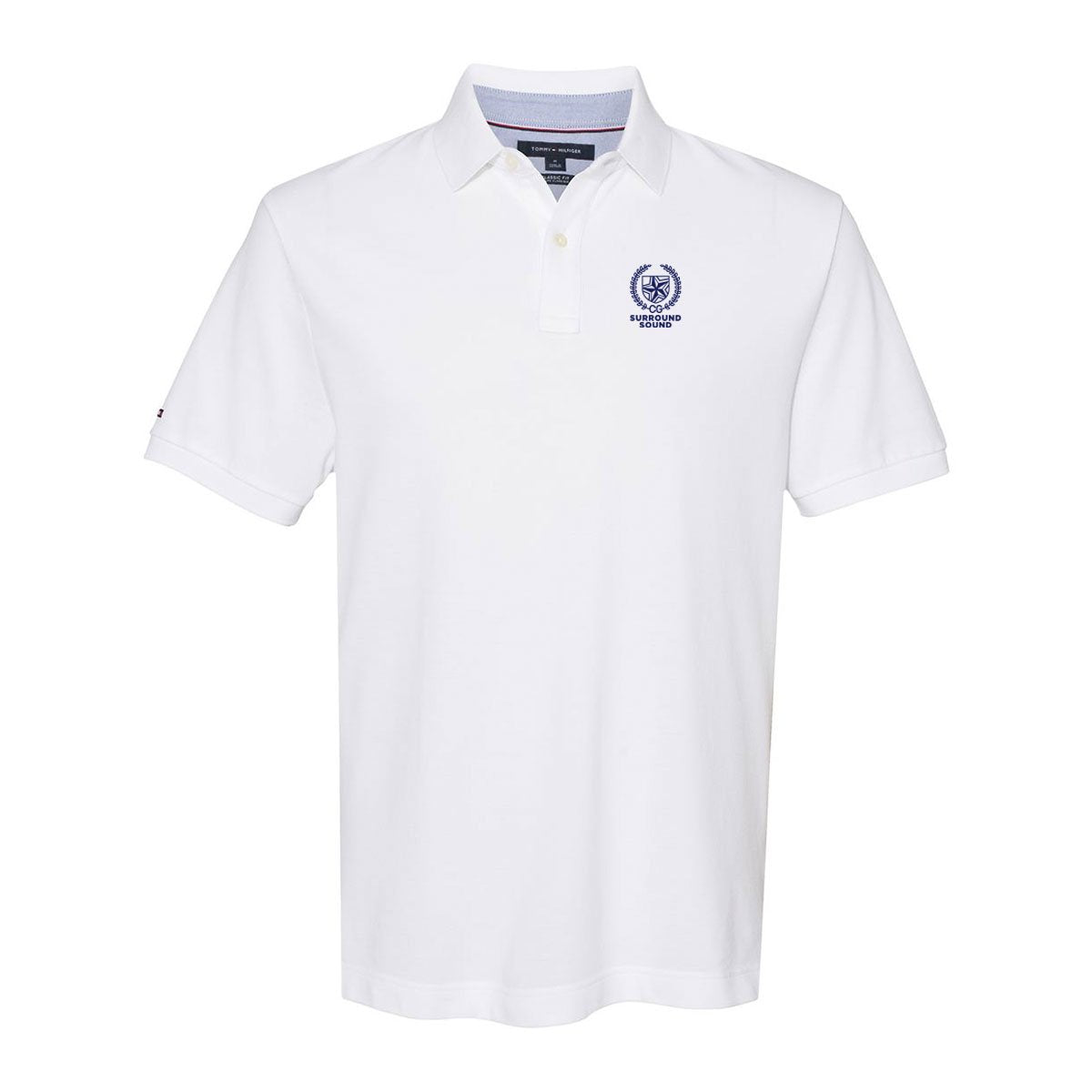 Surround Sound White Tommy Hilfiger Polo