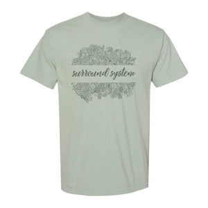 Surround Sound Comfort Colors Floral Tee