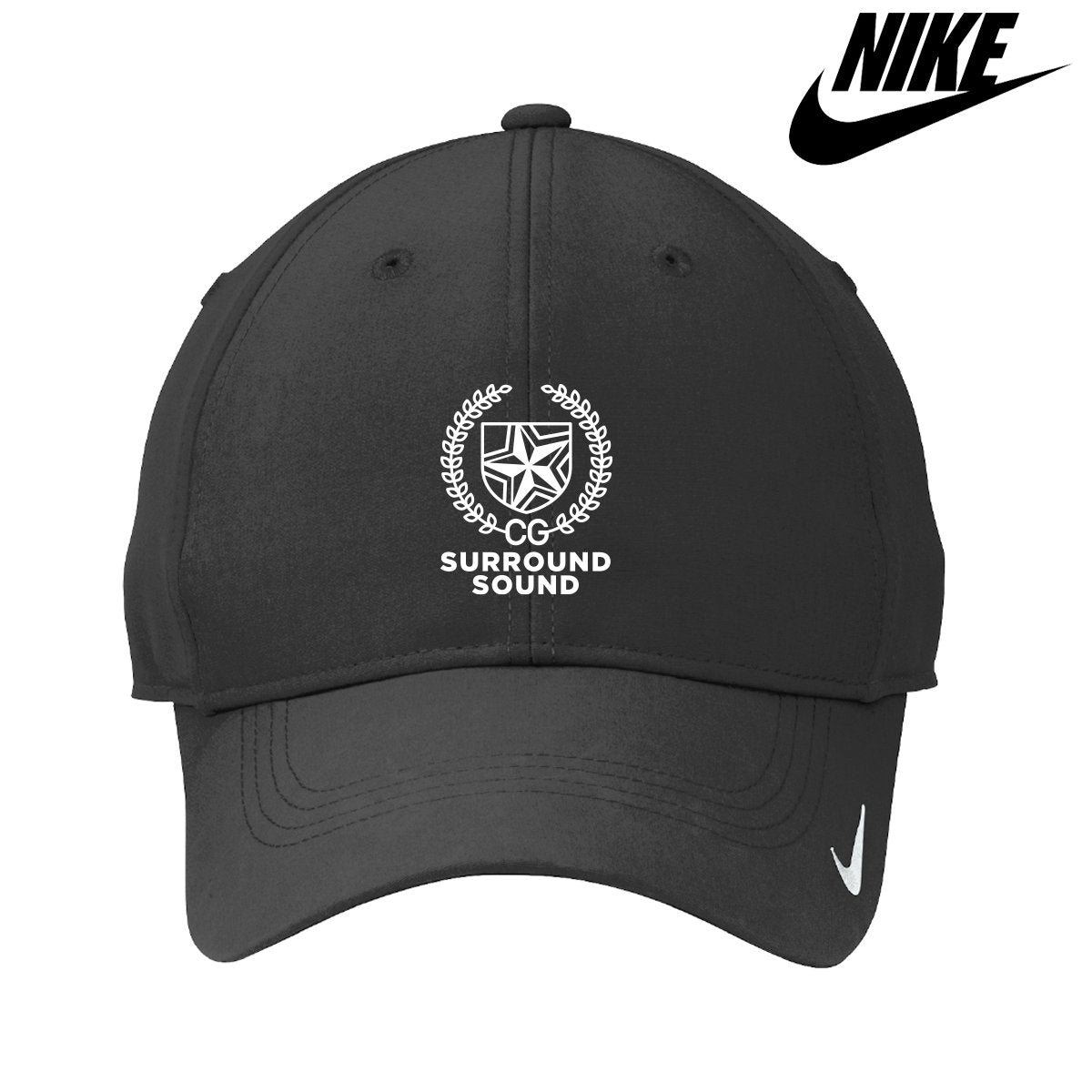Surround Sound Black Nike Hat