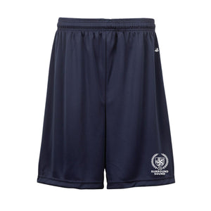 "Surround Sound Navy 7"" Shorts"