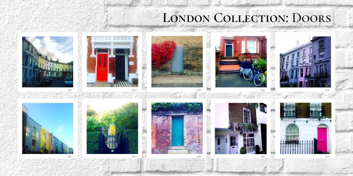 London Collection Doors | Notes From Another Land | Fine Art Travel Prints