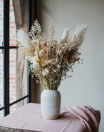 Load image into Gallery viewer, White speckled vase - Large