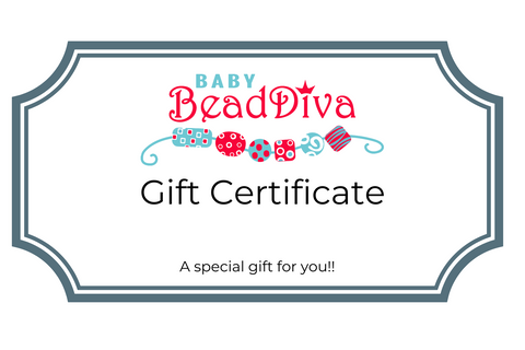 Baby Bead Diva Gift Card