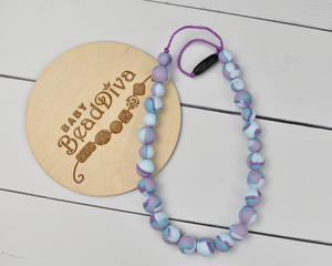 Spring Berry Tie Dye Kid Necklace