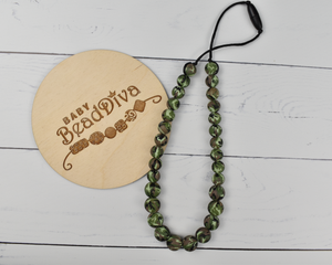 Camouflage Silicone Kid Necklace