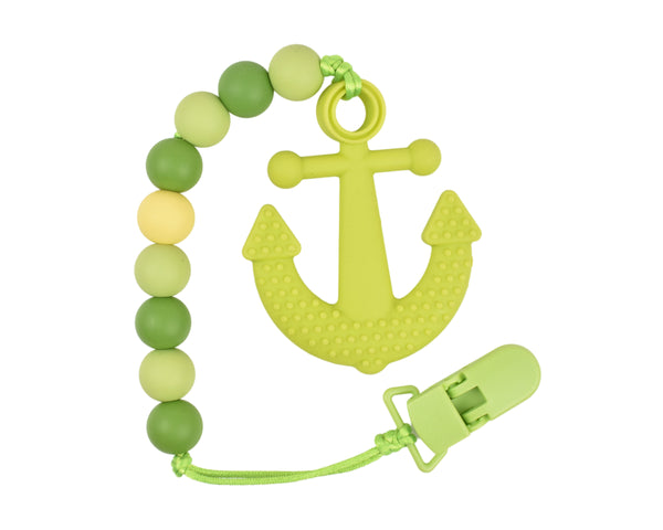 Anchor Silicone Baby Teether – Multiple Colours Available