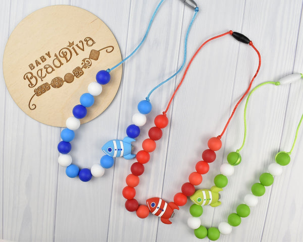 Rocket Kid Necklace - Multiple Colours Available