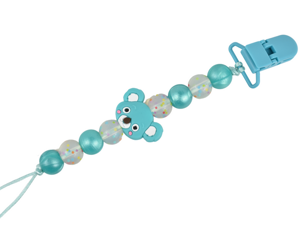 Koala Bear Mama and Me Soother Clip and Key chain