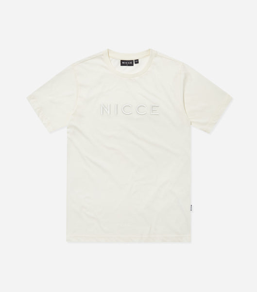 Nicce Mens Mercury T-Shirt | Ecru